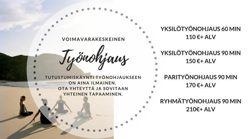hinta työnohjaukselle Jyväskylässä/ UnelmaRatkaisu