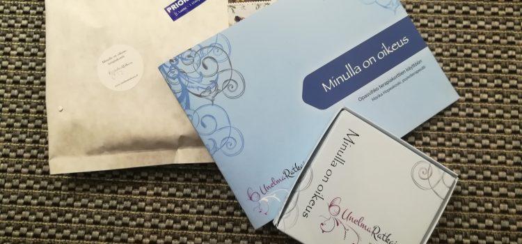 Terapiakortit postitettu kesälomani aikana tilanneille