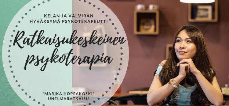 Ratkaisukeskeinen psykoterapia