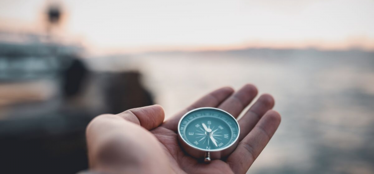 Läsnäolon kompassi