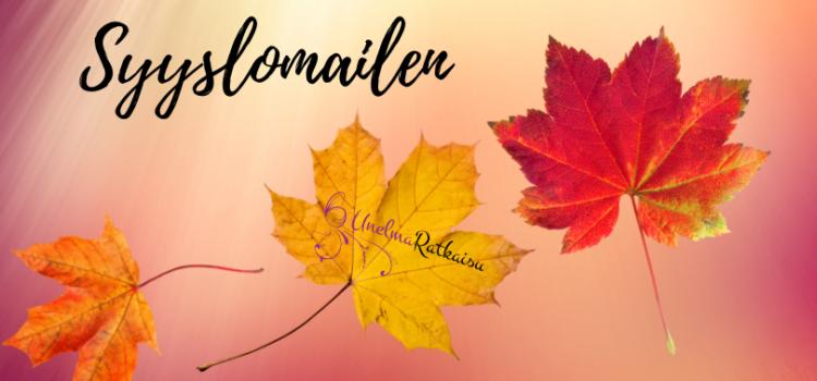 Syyslomailen 18.10.-24.10.2021